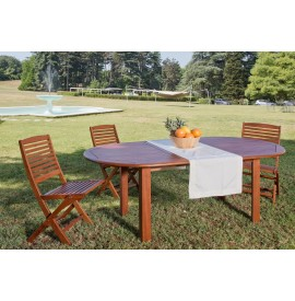 PEONY extendable oval table...