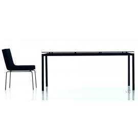 KENDO glass table with...