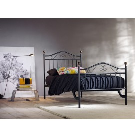 GIULIA bed in wrought iron,...